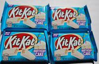 4 Kit Kat Birthday Cake Bars 1.5 OZ Limited Edition Chocolate Bar