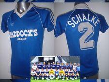 Schalke 04 ADIDAS MAGLIA JERSEY TRIKOT CALCIO in VINTAGE adulto medio 1984