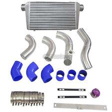 Intercooler Kit + BOV For 88–92 Toyota Cressida MX83 1JZ-GTE Single Turbo Blue