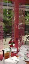 2 Stück=1 Preis Flächenvorhänge Vlies fuchsia pink Schiebegardinen 0,60x2,45 m