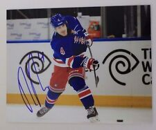 RAPHAEL DIAZ Switzerland NY Rangers AHL Wolf Pac Autograph 8x10 Photo Signed 15A