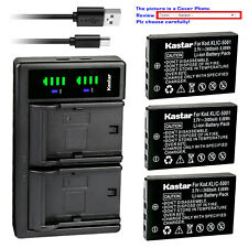 Kastar Battery LTD2 Charger for Kodak KLIC-5001 & Kodak EasyShare Z760 Zoom