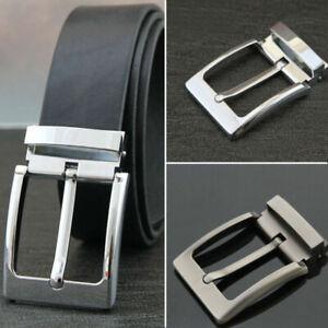 40mm remplaçable Zinc Alloy boucle ardillon pour ceinture en cuir Mens Gents