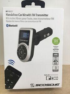 Scosche BTFREQ Handsfree Car Kit FM Transmitter Bluetooth w/ Remote (CQA01)