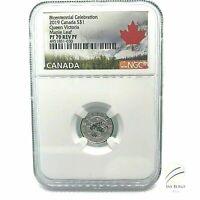 🇨🇦2019 Canada S$1 Bicentennial Queen Victoria Maple Leaf PF70 Reverse PF 1/20