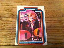 1978 KISS Peter Criss #17 Non-Sport Trading Card Kiss Hard Rock Heavy Metal old