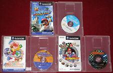 GameCube SUPER MARIO SUNSHINE + KART DOUBLE DASH + NINTENDO PUZZLE COLLECTION