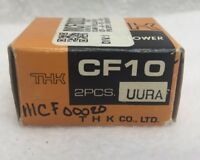 NOS THK CF10UURA CAM Follower Roller Bearing Set of 2