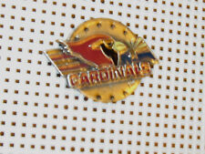 NFL LICENSED LAPEL  PIN TEAM LOGO ARIZONA CARDINALS   GO CARDINALS