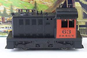 Athearn HO DRGW Denver & Rio Grande Hustler Switcher 2997