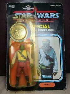 Vintage Star Wars - Barada Last 17 Figure POTF 1985 MOC - ** Read **