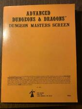 Rare TSR Advanced Dungeons & Dragons Dungeon Masters Screen 1st Printing
