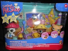 "Pet shop ""Concours Hippique/Raceabout Ranch"" Chat Europeen Cat #337/338/339 NEUF"
