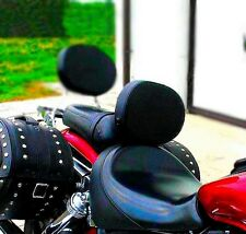 Controlador De Acero Inoxidable jinete respaldo HONDA VTX 1800 VTX1800 Retro