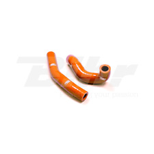 SAMCO SET MANCHON TUYAUX RADIATEUR ORANGE KTM FREERIDE 250 2013-2018