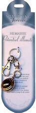 Porte clefs/Bijoux Sac - Minéraux  - Hématite