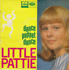 "LITTLE PATTIE-Dance Puppet Dance 7"" EP 1966 HMV Australia‎n issue-7EGO 70057"