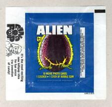1979 Topps - ALIEN movie - Original Card Wax Pack Wrapper