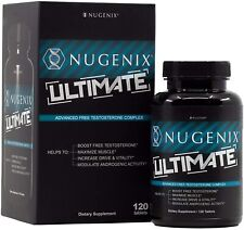 Nugenix Ultimate Testosterone Booster 120 Tabs🔥L👀K HERE!! Exp July - 2021🔥🔥