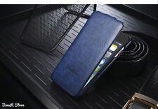 Premium Flip Case HandyHülle für Apple iPhone 6S Hülle Tasche - Blau (11BL)