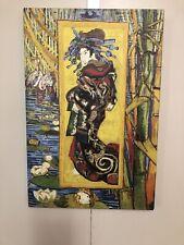 Courtesan Reproduction Oil Painting Print By Vincent van Gogh 18x12