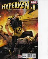 HYPERION #1 MARVEL COMICS 2016 BAGGED AND BOARDED