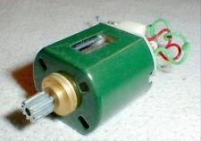 Green 36D Mabuchi Motor 10 T Brass Pinion NOS missing springs & Brushes