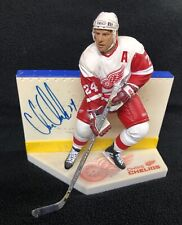 Chris Chelios Signed Detroit Red Wings McFarlane Figure