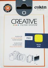 Cokin P Series P001 Yellow Creative Filter System - New UK Stock