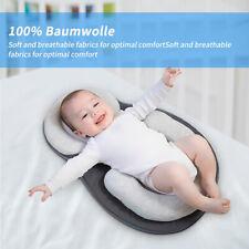 Orthopädisches Baby Kissen Kopf Lagerungskissen Kopfverformung Matratze waschbar