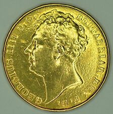 More details for george iv, solid gold two pound coin 1823