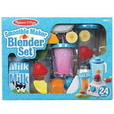 Melissa & Doug Pretend Play Smoothie Maker, Blender - 24 Piece - Ages 3 Years