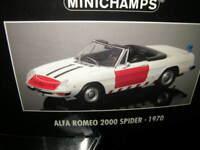 1:18 Minichamps Alfa Romeo Spider 1970 Rijkspolitie Polizei Nr. 180120994 in OVP