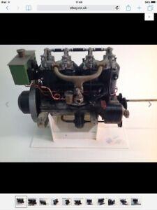 Pocher Fiat Engine