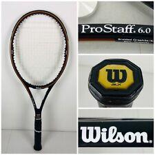 Wilson Pro Staff 6.0 85 Tennis Racket Midsize 4 1/2 L4 Graphite