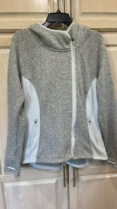 Athleta Full Zip  Long Sleeve Yoga Athletic Jacket Xl