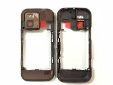 Nokia N97 Mini Mittelrahmen Rahmen Frame Gehäuse Kamera Glas NEU Bronze Original