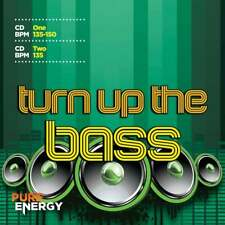 Pure Energy Turn Up The Bass Continuous Aerobics Fitness Music CD