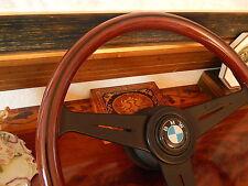 "BMW E2 E10 2000 2002 Wood Steering Wheel 15""3 Nardi Original D.O.T. Germany BMW"
