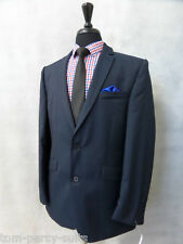 Men's Navy Slim Fit Gibson London 2 Piece Suit 40R W34 L33 CC1999