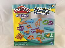 Play-Doh Sweet Shoppe colorful Cookies Maker Modeling Compound New