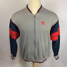 ViNtAgE 70s 80s Adidas Color Block Jumper Track Running CoAt JaCkEt Soccer M