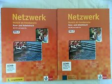 Netzwek Deutsch als Fremdsprache Kurs- und Arbeitsbuch (B1.1 und B1.2)