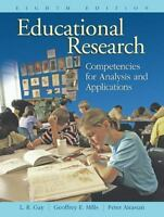 Educational Research: Competencies for Analysis and Applications [8th Edition]