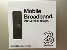 3G USB Mobile Broadband Dongle ZTE MF730M Three Network-42Mbps-Fastest 3G Modem