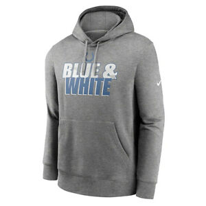 New 2021 NFL Indianapolis Colts Nike Fan Gear Local Club Logo Pullover Hoodie