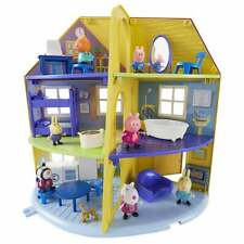 Peppa Pig-Peppa's Family Inc Peppa figura y muebles Home Accesorios
