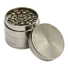4Layer Zinc Alloy Herb Grinder 40mm Spice Grass Weed Tobacco Smoke Grinders HCXM