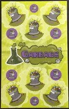 Dr. Stinky's Scratch & Sniff Stickers - Garbage - Mint Condition!!