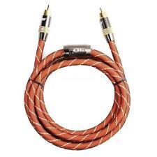 3ft 1M PREMIUM Digital Coaxial Metal Degauss HIFI Audio/Video RCA Cable M/M Coax